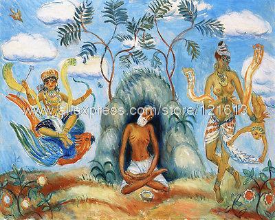 Krishna schilderij koop goedkope krishna schilderij loten van chinese krishna schilderij - Koffiebar decoratie ...