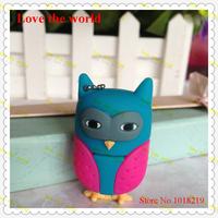 Latest design  4GB 8GB 16GB 32GB  Owl USB flash drive memory stick usb stick pen drive external storage