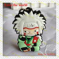 U Disk pen drive Naruto Jiraiya 4GB/8GB/16GB/32GB usb flash drive flashdrive memory stick pendrive