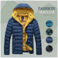 The new autumn/winter men down jacket down jacket/authentic original men's brief paragraph cultivate one's morality/winter coat