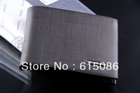 2013 New fashion Men's purse Luxury Genuine leather brand business Wallet for Men free shipping M478