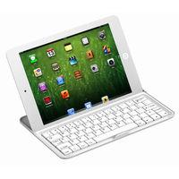 Aluminum Wireless Bluetooth Keyboard Case Cover for Apple iPad mini