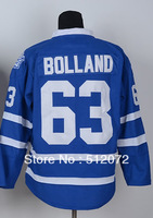 #63 Dave Bolland Men's Authentic Home Blue Hockey Jersey