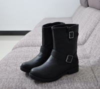 Free shipping 2013 Winter Women casual boots buckle platform boots plus size comfortable martin boots