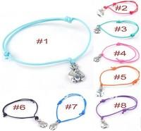 Hot Fashion Wholesale 50 pcs/Lot Cuff Cotton Hemp Adjustable Handmade Braided Bracelet Silver US Dollar Purse Gift Free Shipping