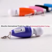 Wholesale 10pcs/lot super mini AV vibration massager mute bullet vibrator sex toys adult products XQ-406