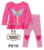 Free shipping 6 sets/lot Cartoon WINX Kids girls Pajamas Children's Cotton suits baby pyjamas/pyjams/sleepwear