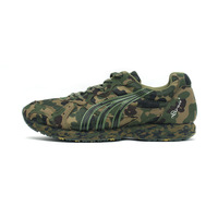 Free shipping Camouflage shoes marathon jogging running shoes training shoes