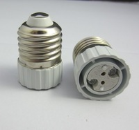 5pcs/lot, E27-MR16 Lamp Holder Converter, E27 to MR16 led lamp socket adapter, lamp light screw base, freeshipping