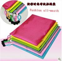 Wbn880-a4 linen edge bags edge bags bulbiform zipper bags thickening file bag