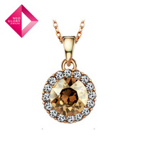 Neoglory Austria Crystal Pendant &Long Necklace for Women Fashion Jewelry Sweetheart 2013 New Design Brand