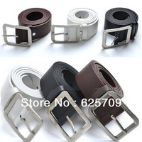 Men's Fashion Faux Leather Top Quality Unisex Hot Fashion chic 3 color Leather Waist Belt Waistband 3 colors