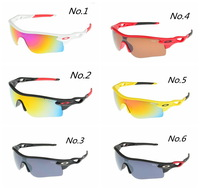 Wholesale fashion sports riding sunglasses Personalized Sunglasses Bike Sports Sun Glasses Eyewear multiple style multiple color