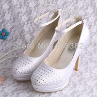 Hot Selling Ultra High Heels Platform Wedding Shoes for Women Plus Size Free Shipping Dropship