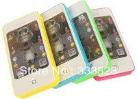 Free shipping iphone toy learning machine, kit's mobile phone, iphone 4s model toy educational toyTom cat Toys
