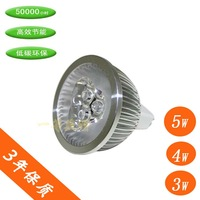 3w 4w 5w mr16 gu10 high power led lighting cup led wall lights led spotlight