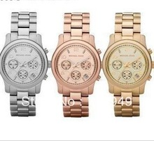 new Luxurious Japan movement brand quartz watch women men fashion rhinestone dress wrist watch have calendar(China (Mainland))