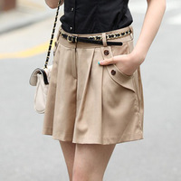 2014 Free Shipping Summer New Women's Casual Shorts Plus Size Culottes Skirts Womens Ladies Shorts Bermuda Women Saias Femininas