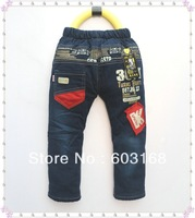 2013 Kid Jeans Baby Children Jeans Warm Jeans Trousers {iso-13-11-13-A1}