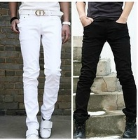 [M-473]2014 Fashion new special offer simple pure color pants men's casual pants