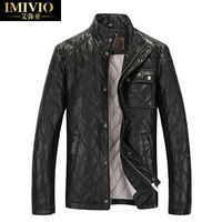 Genuine leather clothing 2013 genuine leather male leather clothing down clothing leather clothing slim