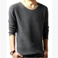 Free shipping new fashion 2013 O neck cotton winter korean mens sweaters MEN'S Casual pullovers  knitted sweater coat