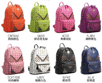 South Korea Tian Liangtong paragraph M word rivet u-know LuHan star Stark small mini backpack backpack bag