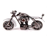 Wrought iron decoration motorcycle model home decoration crafts birthday gift