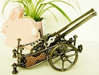 Cannon tieyi model metal craft decoration home gifts gift boys