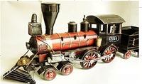 Home accessories metal vintage steam machine model bar table ktv decoration