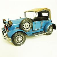 For dec  oration birthday gift metal car model vintage small car nostalgic classic car bar decoration