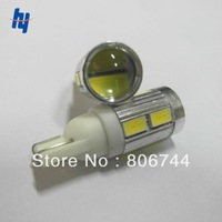 2013 Newest Free shipping 10PCS/LOT super bright T10 5630 10smd led auto interior lighting,cree led light car smd led