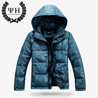Newest Male wadded jacket men's casual wadded jacket down coat male cotton-padded jacket men's clothing outerwear