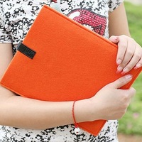 Mini product ($20) Wool Felt Folder Bag For Ipad Travel Pouch