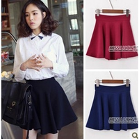 Women's 2013 bust skirt ! all-match fashion cymose big skirt pleated short skirt