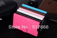 Free shipping !Superior quality pu leather Case for Samsung Galaxy note3 n9000 Luxury Back Cover insert card case for Note3