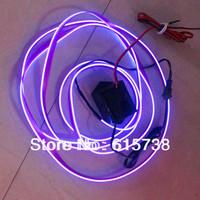 3M  Neon Flexible  Light Glow EL Strip Wire Tube cold light cold wire cold lights white blue yellow green red pink purple