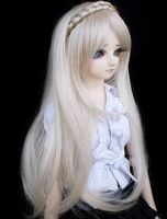 Free shipping Bjd sd doll wig e - rustic princess 2