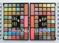 1pcs/lot 2013 New arrival!Free shiping!Round Makeup Glare 39-color eye shadow palette 3-color blusher