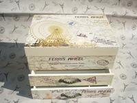 Wooden music box music double pumping dressing jewelry box wedding gifts decorations Large storage box
