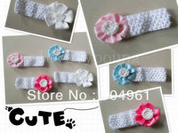 Toddler girls flower headband baby flower headband