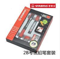 Pen stabilo 2b mechanical pencil set pencil