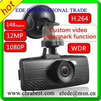 New Arrival High Quality car video recorder FullHD 1080P Car Recorder DVR Camera Black Box Video 1080P H.264 car camera