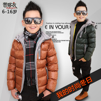 Child clothing for bread male child wadded jacket 2013 medium-large male child cotton-padded jacket boys cotton-padded jacket