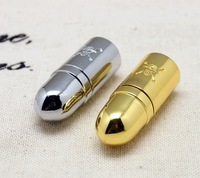 Drop+Free Shipping New Metal Skull Pirate Bullet Model usb 2.0 memory flash stick pen thumbdrive