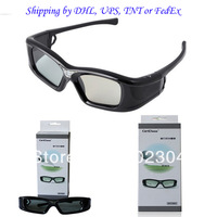 Cheapest  Active 3D DLP LINK Lcd Shutter Glasses For 3D Ready DLP Projector+Fast shipping by DHL, UPS,TNT or FedEx