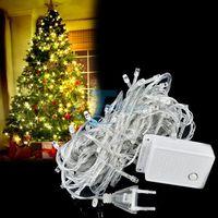 Navidad Decoration 10M 100 LED Christmas String Lights Decorative Party Twinkle String EU Lights luce della stringa luz da corda