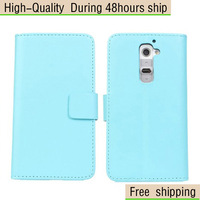 New Magnetic flip Leather  Case Wallet For LG Optimus G2 D802 Free Shipping UPS DHLEMS HKPAM CPAM JR-15