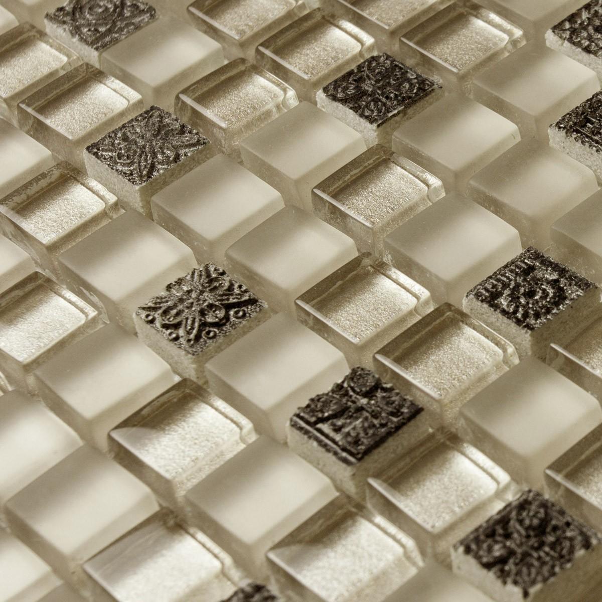 Rustic flower brief beijingqiang mosaic home improvement(China (Mainland))