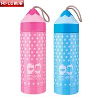 new arrival 280ml vacuum cup pencil shape  steel vacuum flask  leak proof water bottle for kids eco-friendly vacuum flask